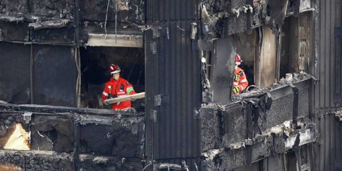 La Policía declaró muertas a las 58 personas desaparecidas en el trágico incendio de Londres