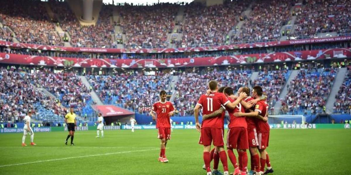 """Rusia comenzó """"su"""" Copa Confederaciones con una clara victoria ante Nueva Zelanda"""