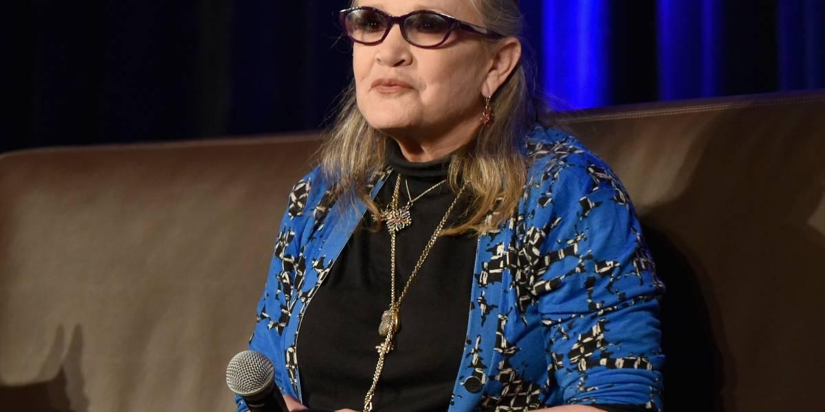 Revelan que Carrie Fisher murió por apnea del sueño y otros factores