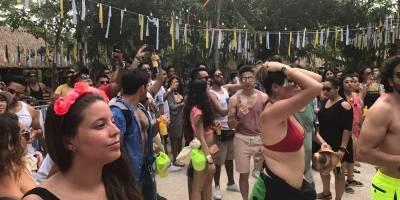 The Wookies sorprende en festival musical en Tulum