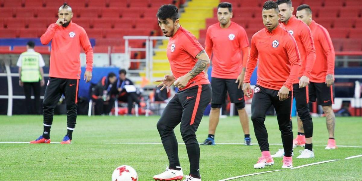 Puch será la carta para reemplazar a Alexis en el debut de Chile en la Confederaciones