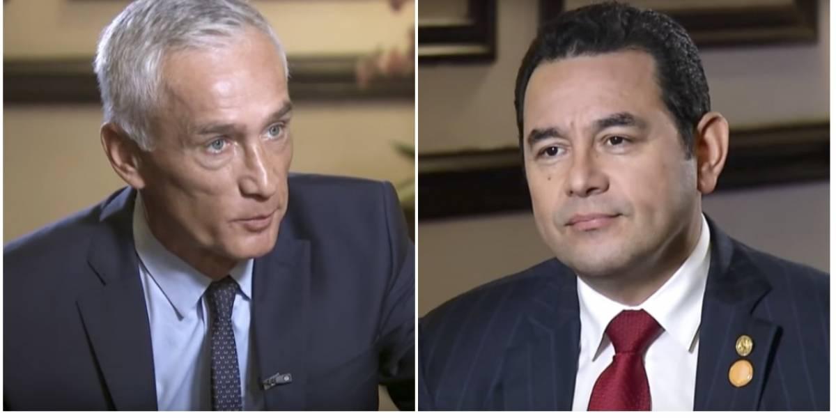 La entrevista al presidente Jimmy Morales que genera polémica en las redes
