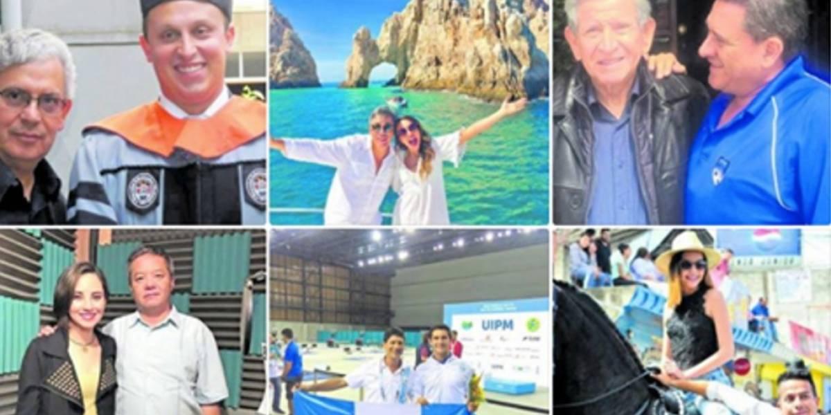 Estrellas, deportistas y políticos comparten el amor por su papá