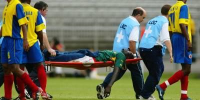 La FIFA hará un homenaje al fallecido Marc-Vivien Foé
