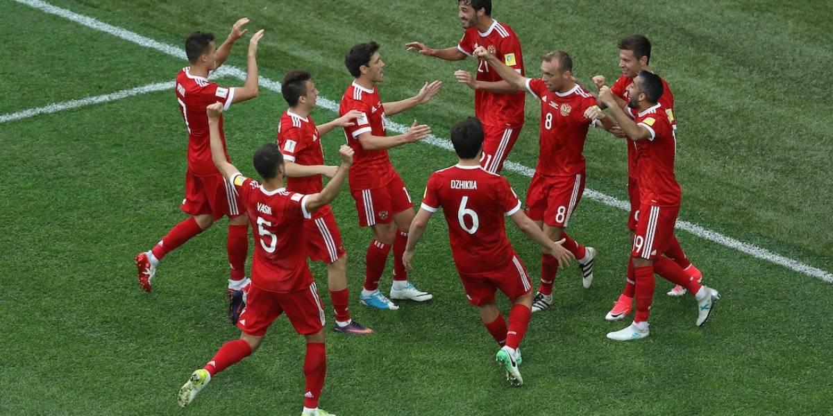 Rusia debuta con triunfo ante Nueva Zelanda en su Confederaciones