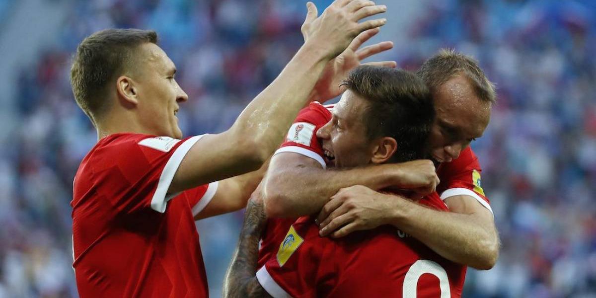 ¡El anfitrión no perdona! Rusia debuta con triunfo en su Confederaciones