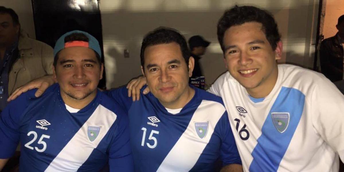 Hijo de Jimmy Morales busca una oportunidad en el futbol nacional