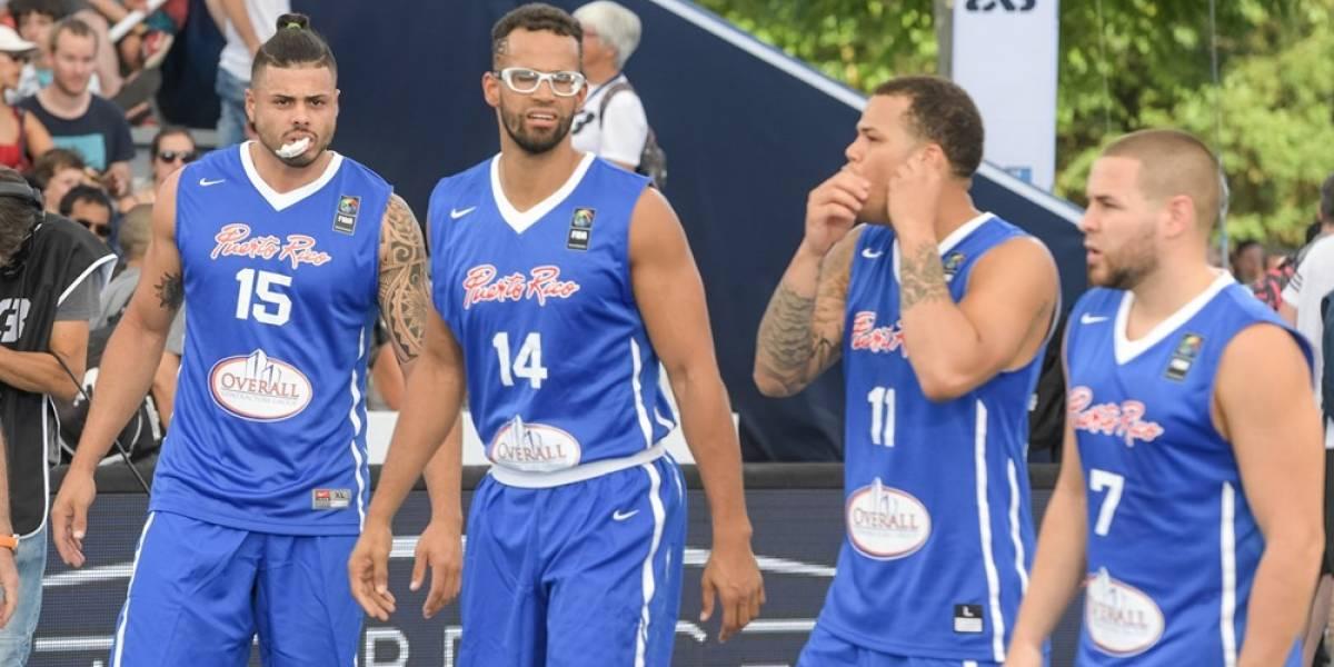Empate el primer día para Puerto Rico en el FIBA 3x3