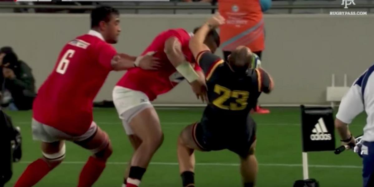 VIDEO: Brutal golpazo durante partido de rugby