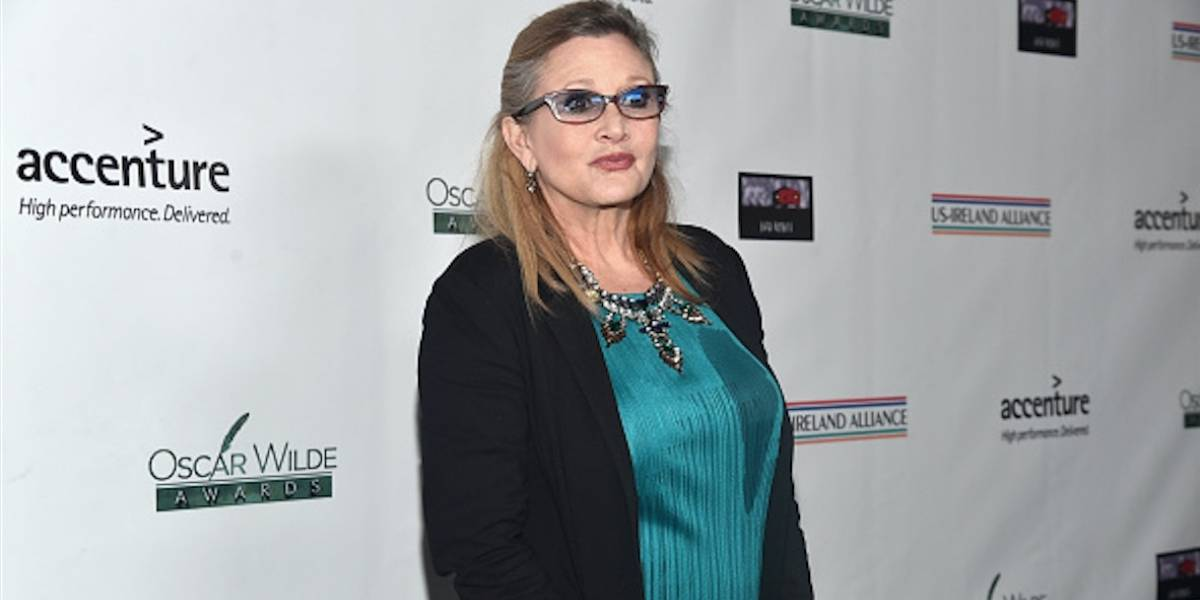 "Comprueban que ""apnea del sueño"" causó la muerte a Carrie Fisher"