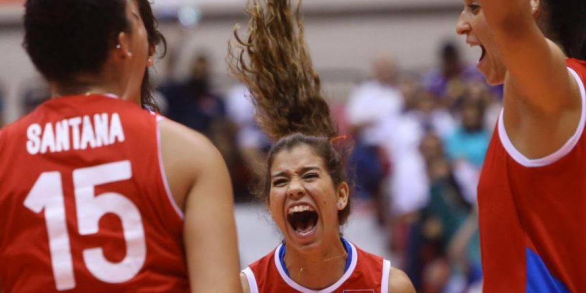 Selección Nacional Femenina de Voleibol obtiene ventaja en Copa Panamericana