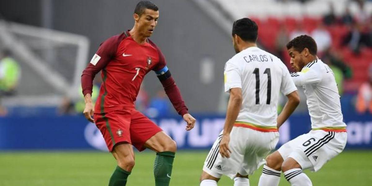 En Directo: Portugal desnivela y supera a México en la Copa Confederaciones