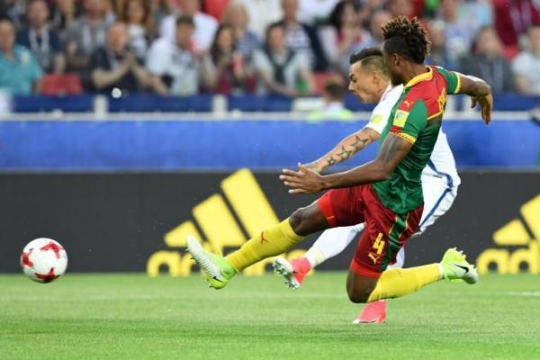 Chile se mide con Camerún en la Confederaciones / imagen: AFP