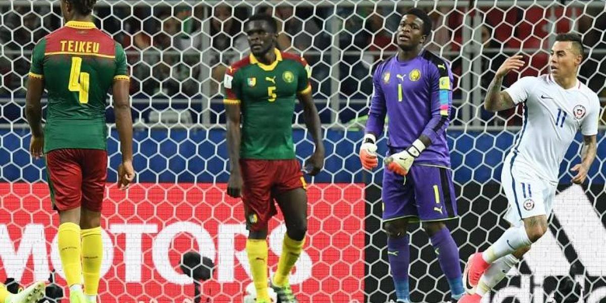 En su debut en la Confederaciones, Chile saca la tarea y vence a Camerún