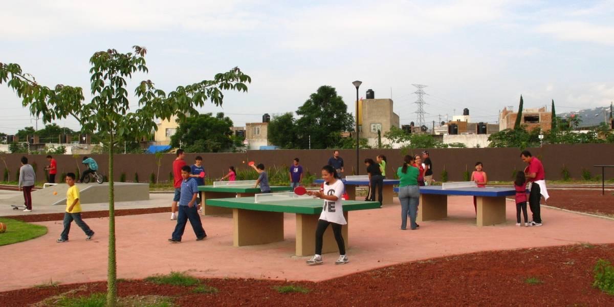 Espacios públicos en el Corazón de México