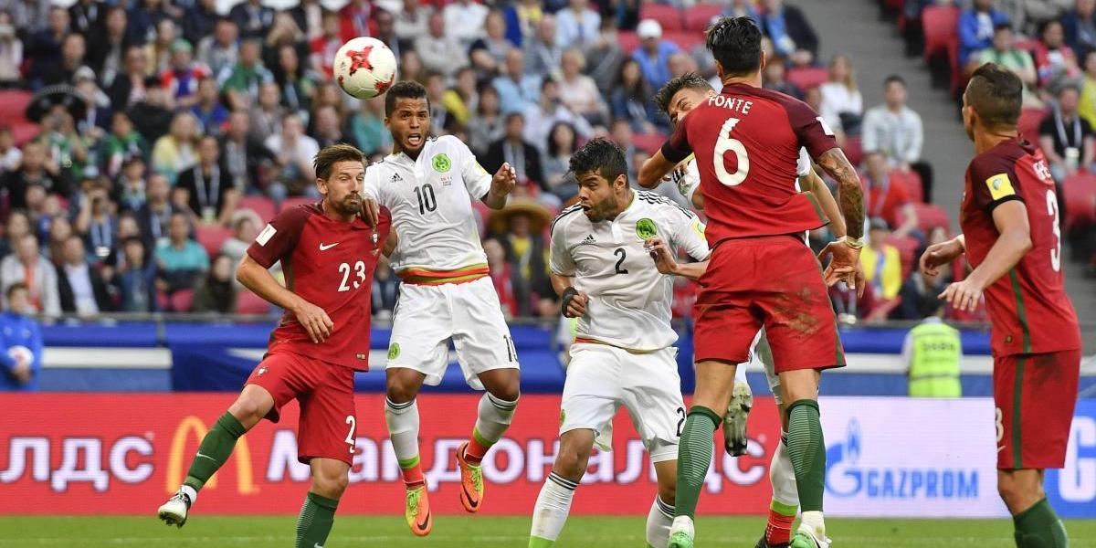 México logra empate ante Portugal