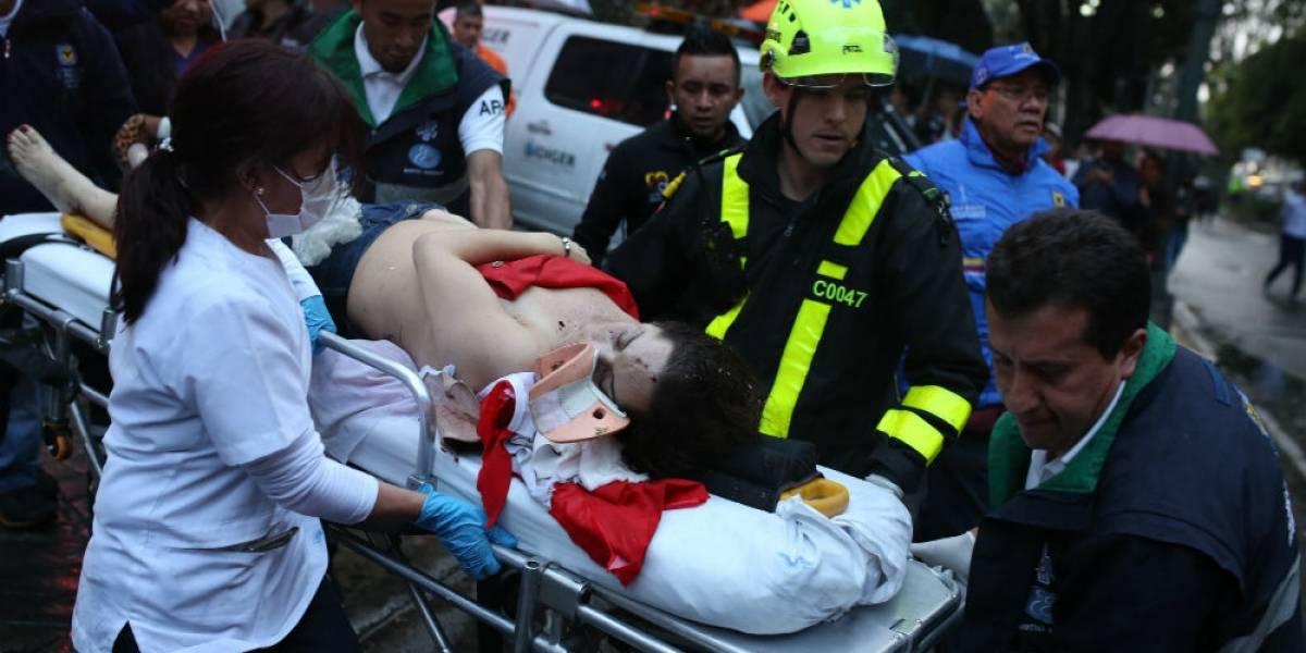 Detienen a 8 involucrados en atentado en centro comercial de Bogotá