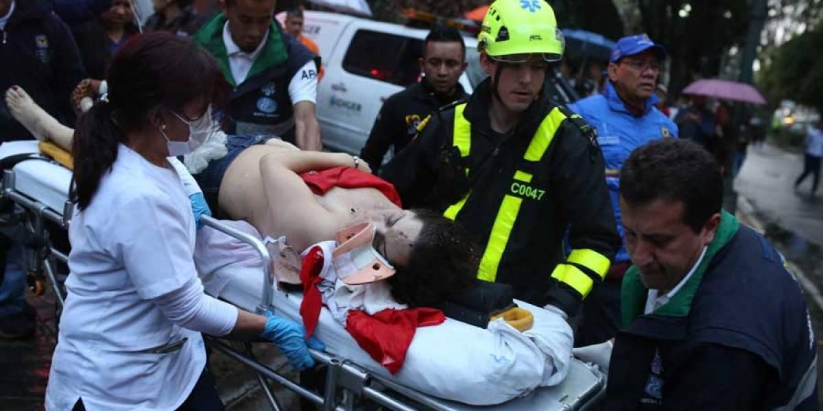 Colombia: 3 muertos y 9 heridos por explosión en mall