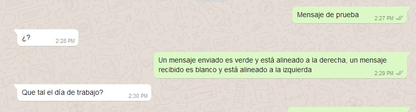 mensajes de Whatsapp