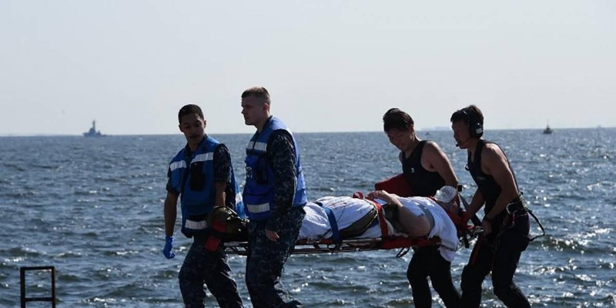 Hallados los cuerpos de los siete marineros de EEUU desaparecidos tras el choque de un destructor con un carguero