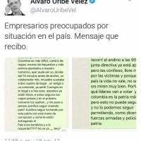 Whatsapp de Uribe