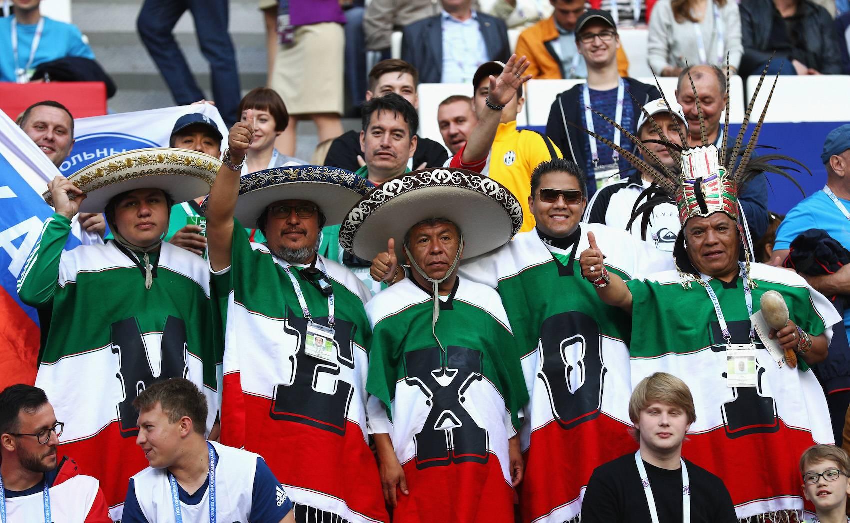 GETTY IMAGES Así ese vive el debut de México en la Copa Confederaciones