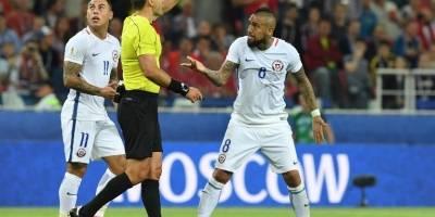 Chile debutó en Confederaciones y triunfó ante Camerún