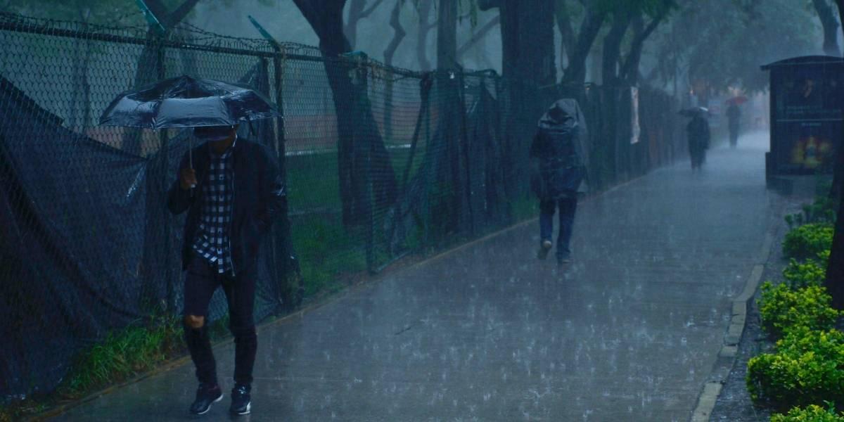 Continuarán fuertes lluvias en gran parte de México