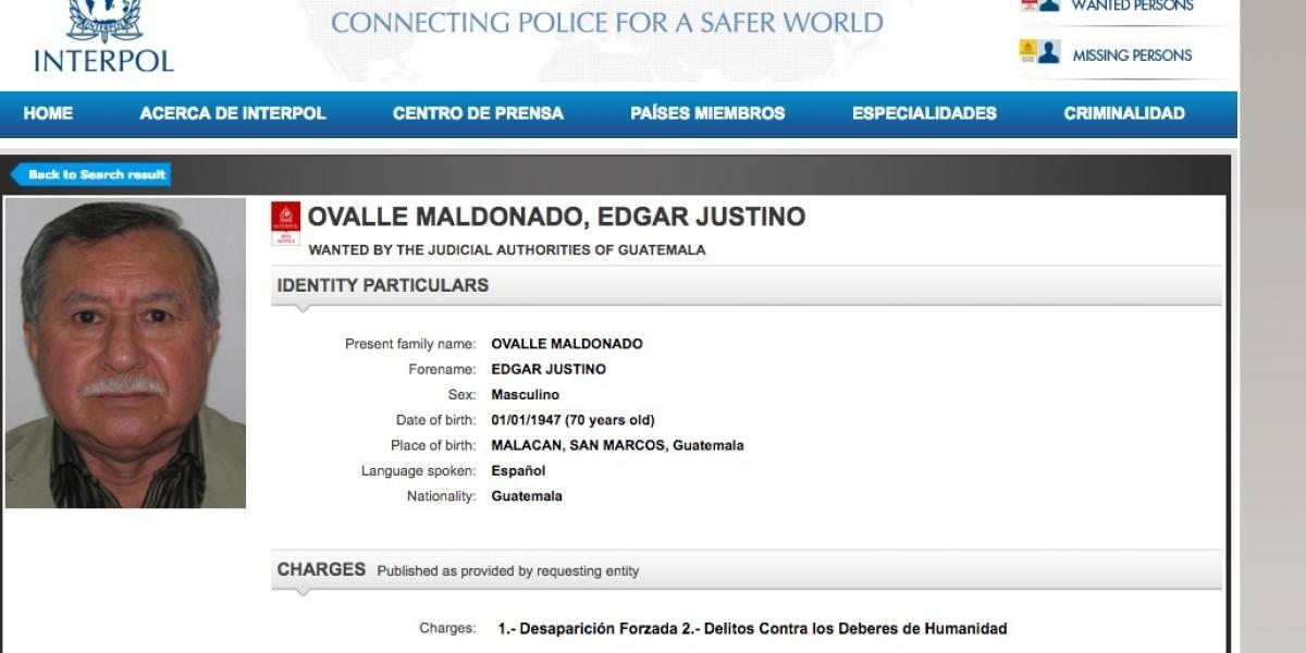Interpol busca a exdiputado del partido oficial