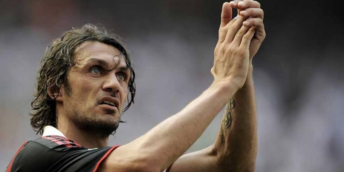 Exfutbolista Paolo Maldini disputará un torneo profesional de tenis