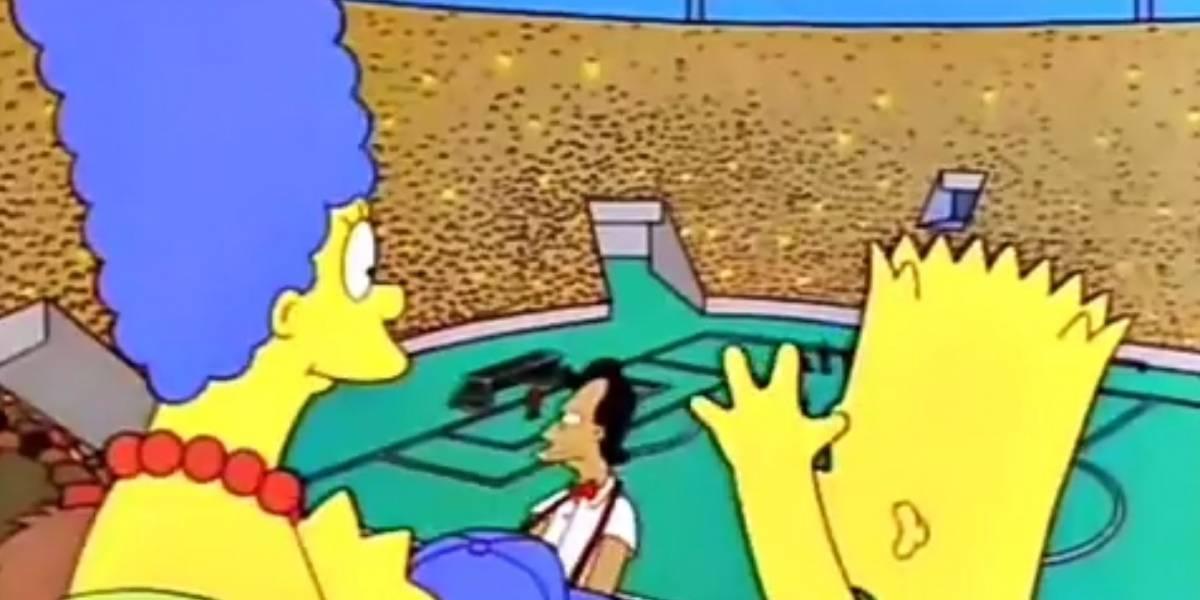 """VIDEO. La """"predicción"""" de Los Simpson en la Copa Confederaciones"""