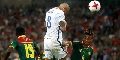 Vidal y el debut ganador de Chile en la Confederaciones: