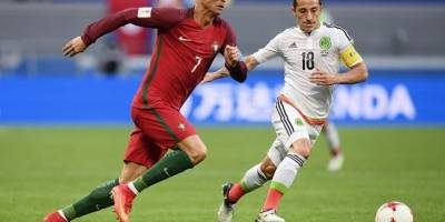 Termina encuentro entre México y Portugal con empate a dos