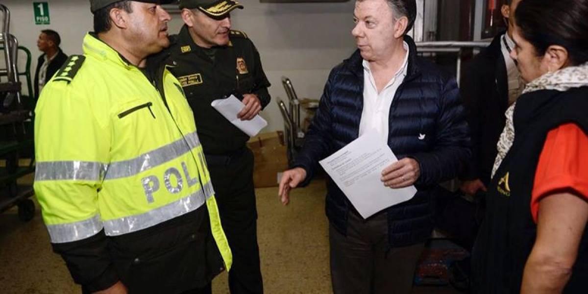 Santos mantiene viaje a Europa y dice que terrorismo no le cambiará la agenda