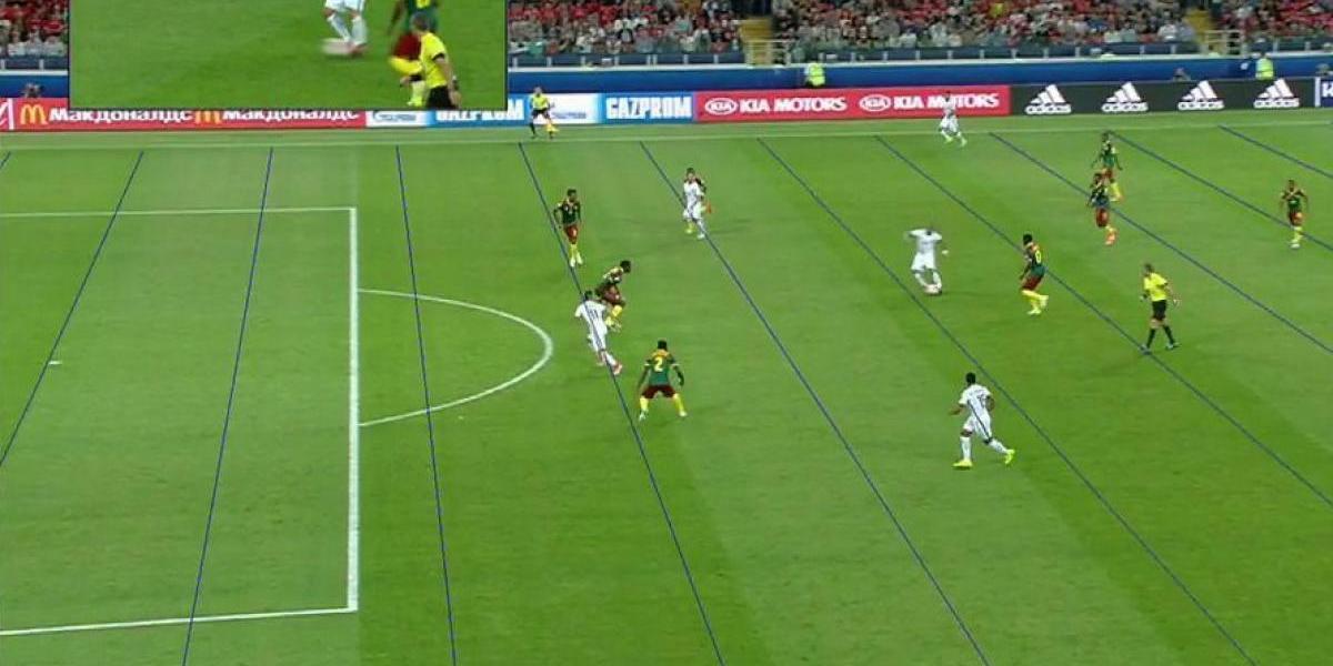 Videoarbitraje da por bueno un gol y anula dos en Copa Confederaciones