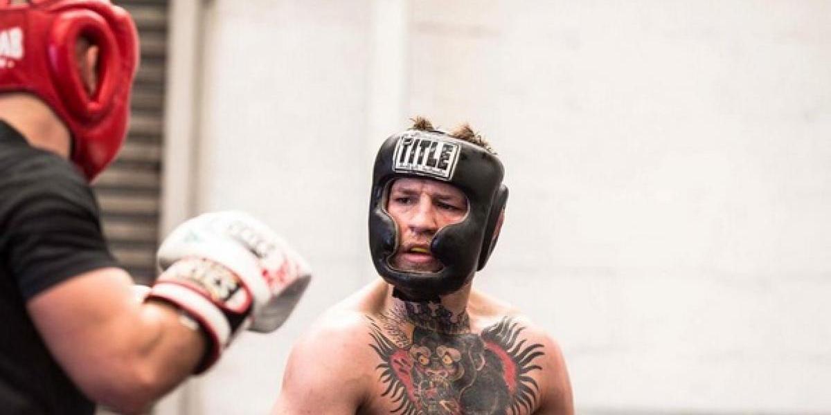 Conor McGregor fue evidenciado en una pelea de entrenamiento