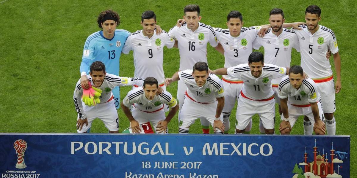 Por primera vez México alinea 11 'europeos' en la Confederaciones