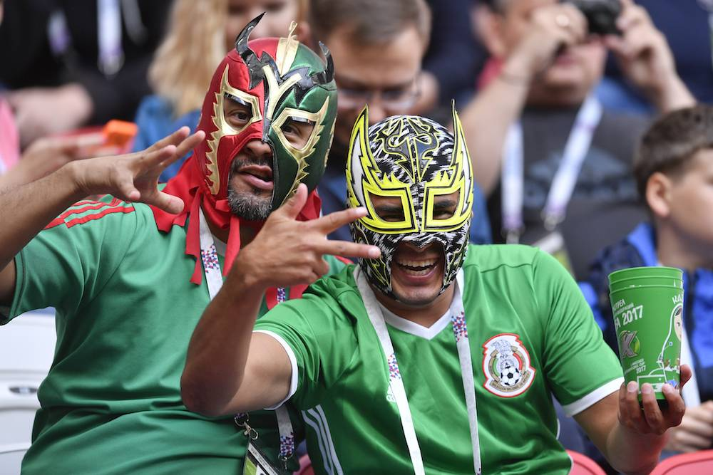 Soccer Confed Cup Portugal Mexico
