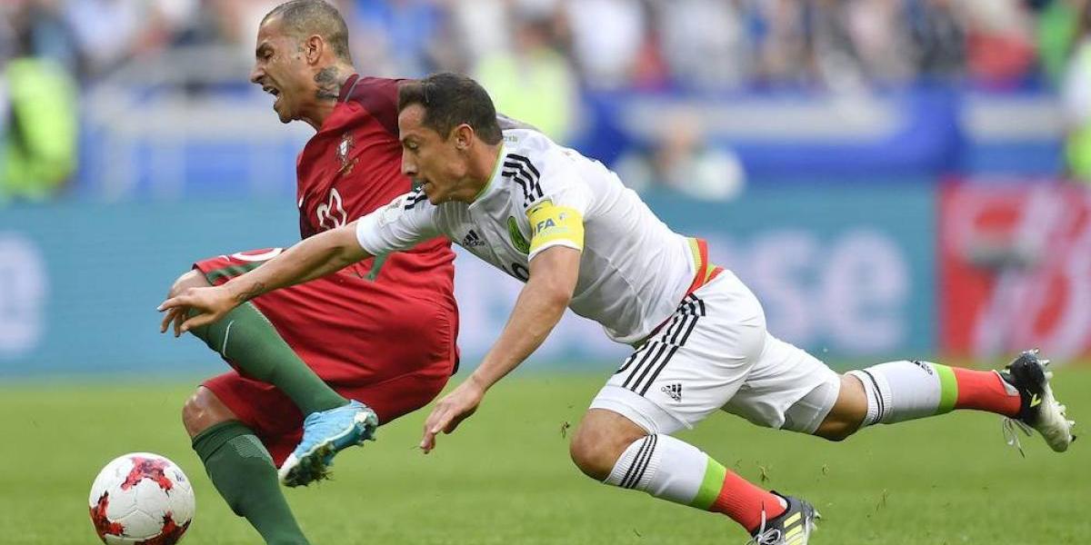 México rescata empate 2-2 ante Portugal