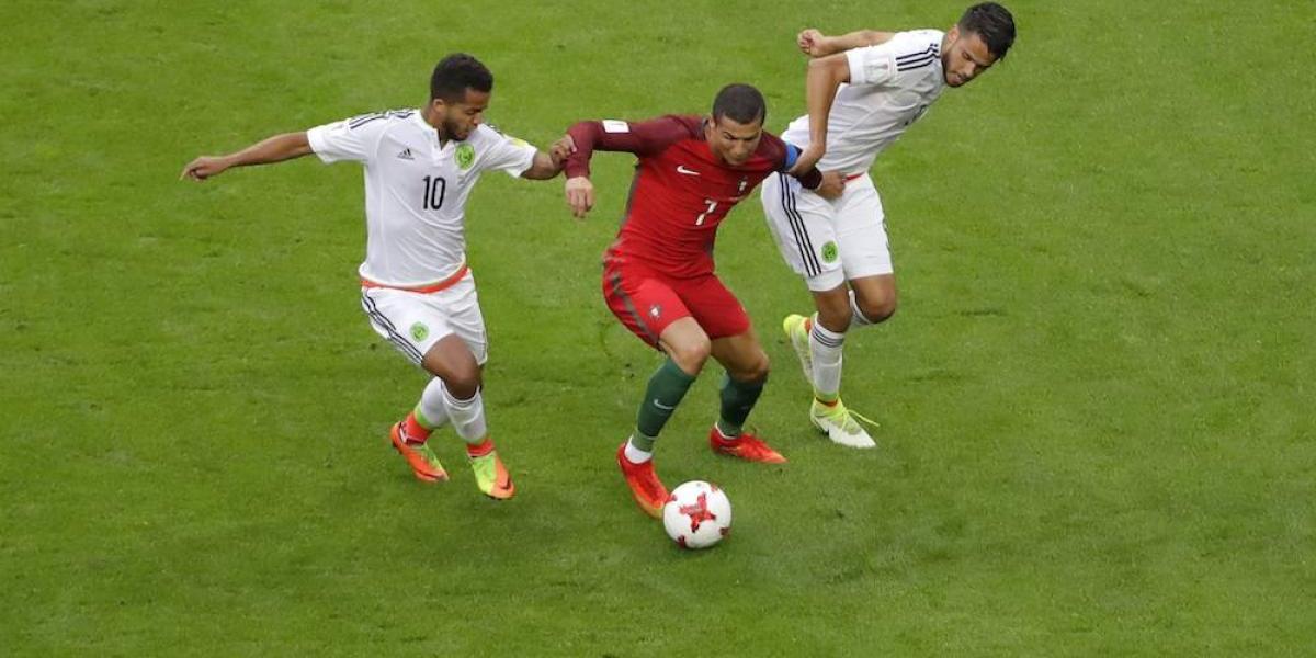 México rescata empate ante Portugal en debut en Confederaciones