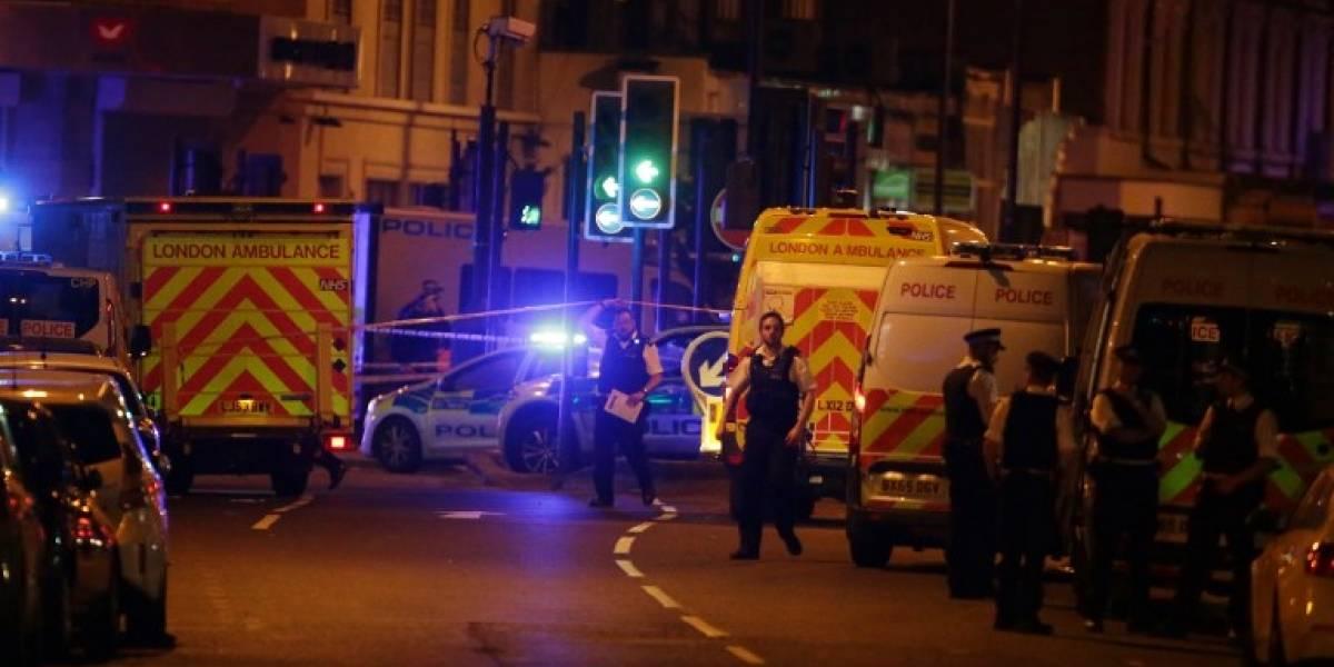 Un vehículo arrolla a peatones en Londres y deja a varios heridos