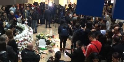 Homenaje en el Centro Andino