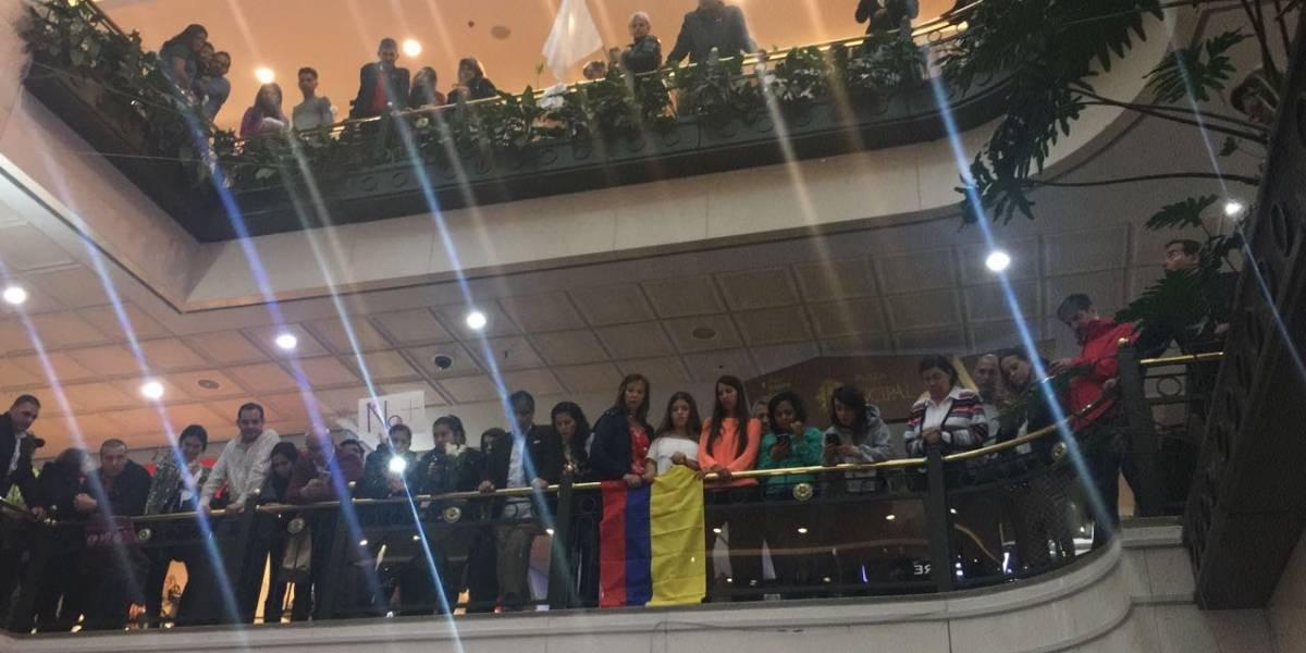 Fotos: el emotivo homenaje a las víctimas del atentado en el Centro Andino