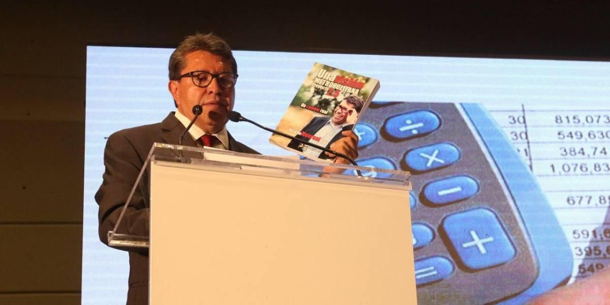 Monreal presenta proyecto para enfrentar crisis urbana en Valle de México