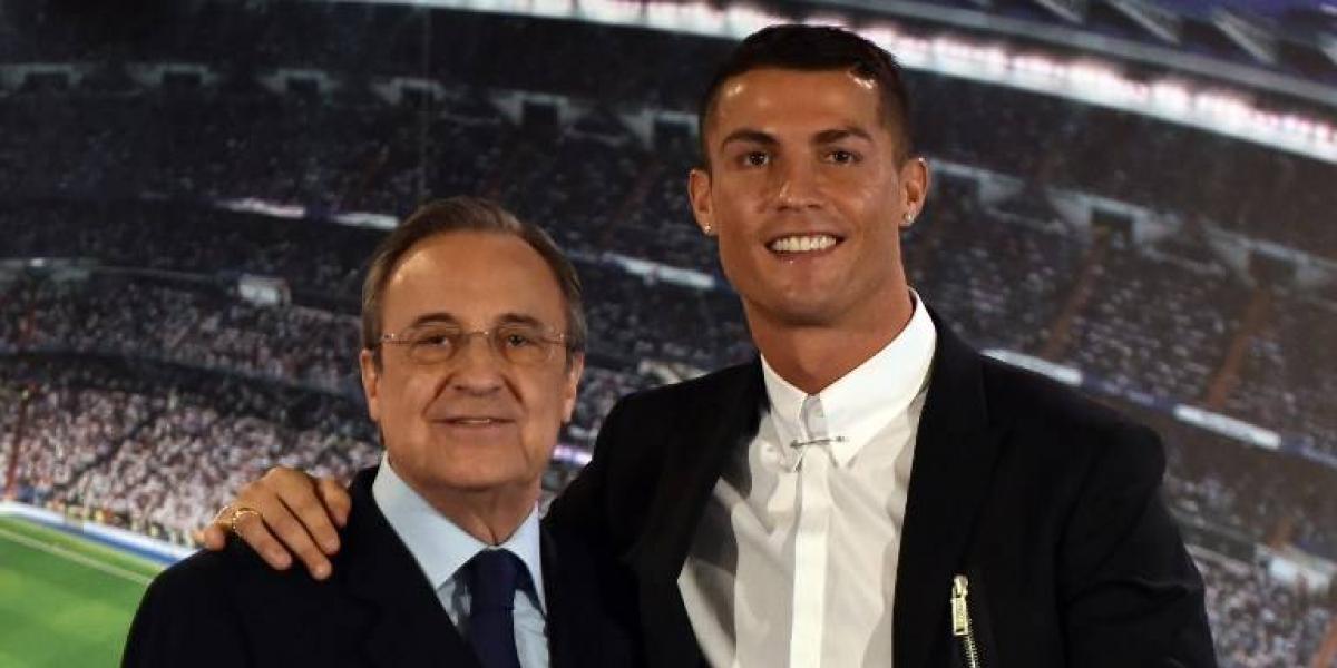 Florentino Pérez cierra la puerta de salida del Real Madrid a Cristiano Ronaldo