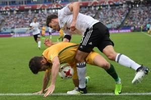 Alemania dio una buena cátedra de futbol con un equipo joven.