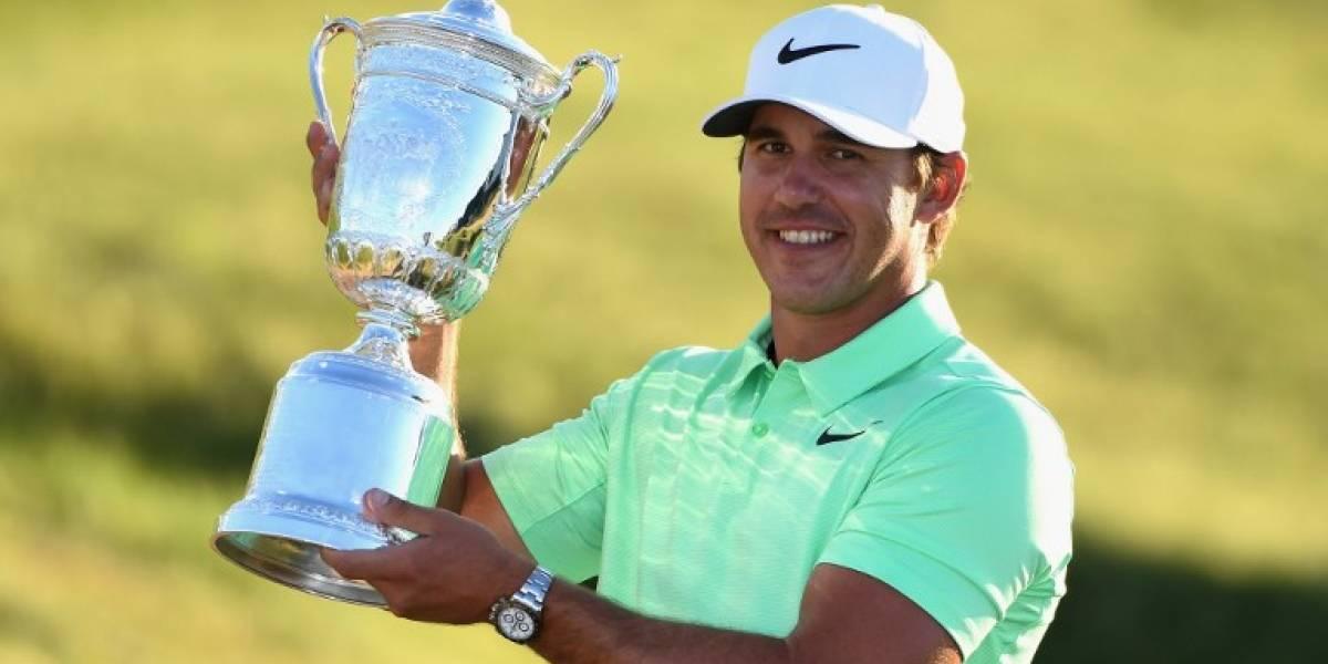 Brooks Koepka, el floridano que sorprendió al ganar el US Open de golf