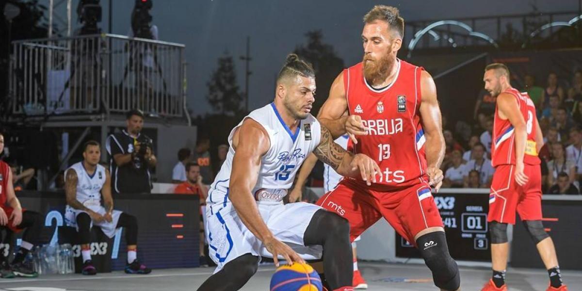 Cae Puerto Rico ante Serbia y se elimina del 3x3