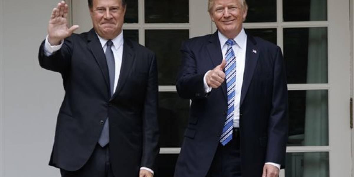 Trump recibe a presidente de Panamá en Casa Blanca
