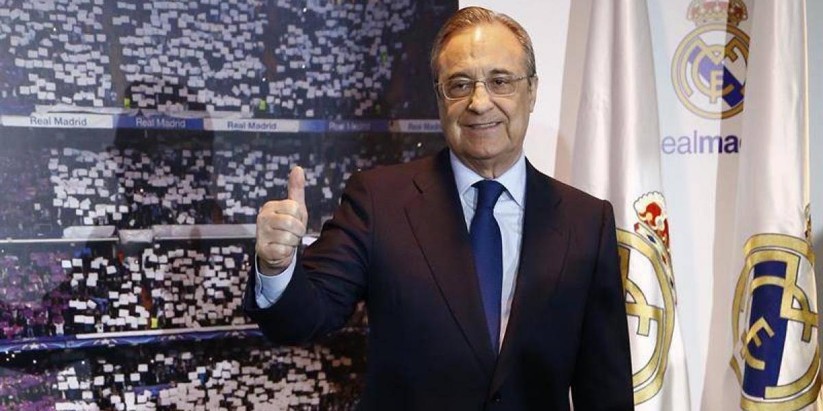 Florentino Pérez se eterniza en el Real Madrid: fue reelegido para su quinto mandato